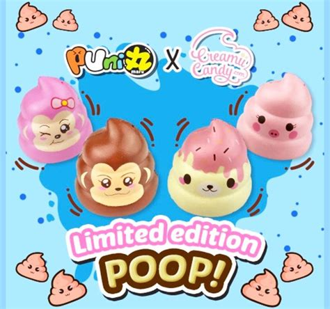 Squishy Original Morning Bread Promo Special puni maru poo scented rising squishy limited edition dotdotbang