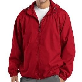 boat names with red weather resistant boat name hooded jacket red