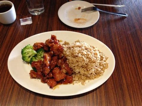 house of lu general tsu chicken lunch special picture of house of lu iii marietta tripadvisor