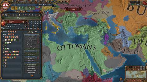 ottoman eu4 nearly historically sized ottoman empire eu4