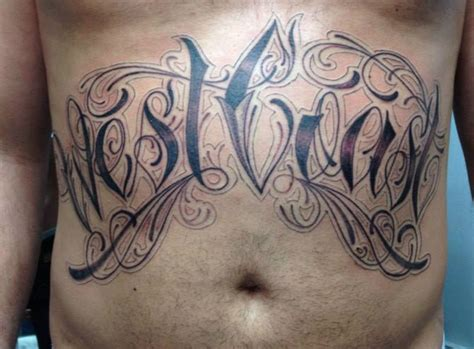 west coast tattoo lettering www pixshark com images