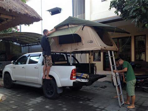 Jual Tenda Lipat Portable jual tenda mobil roof top tent 56 rooftop tent tenda cing patkalipat led lighting
