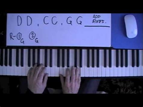 quot sweet home alabama quot how to play on piano tutorial
