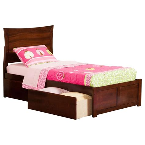 foot of bed metro flat panel foot board bed 2 drawers platform