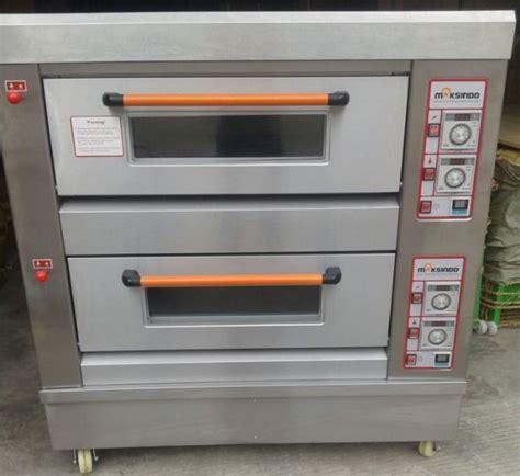 Oven Roti Gas jual mesin oven roti gas 2 rak 4 loyang go24 di bogor toko mesin maksindo bogor
