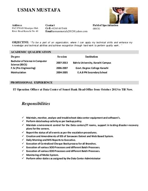 Detailed Curriculum Vitae by Curriculum Vitae Detailed 121