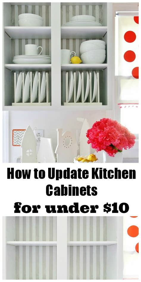 how to update kitchen cabinets for 10 and a