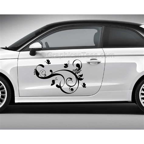 Cars Sticker Decals by Butterfly Car Stickers Custom Graphic Decal Girly Car