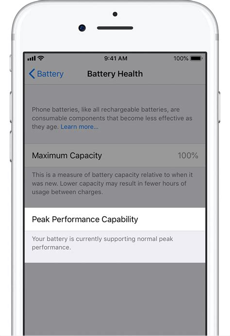 iphone battery health iphone battery and performance apple support