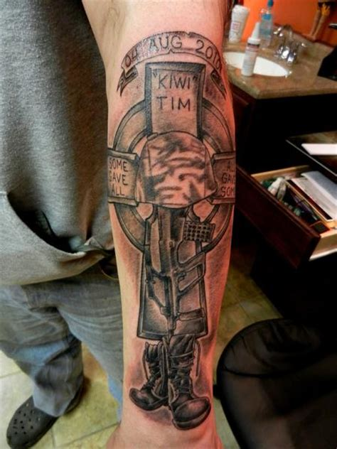 soldier cross tattoo soldiers cross by tim macnamara tattoos