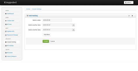 timesheet attendance management system by kingpabel