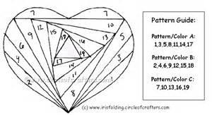 iris folding templates origami maniacs how to make an iris folding card