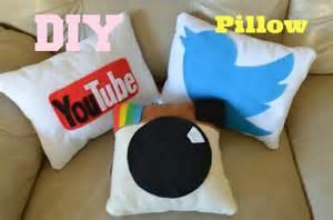 diy social media pillows