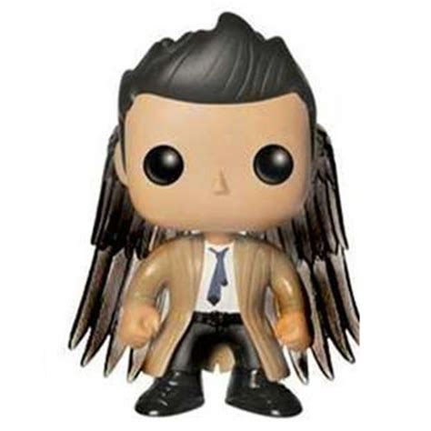 Funko Pocket Pop Keychain Television Supernatural Castiel Wings figurine castiel avec des ailes supernatural funko pop