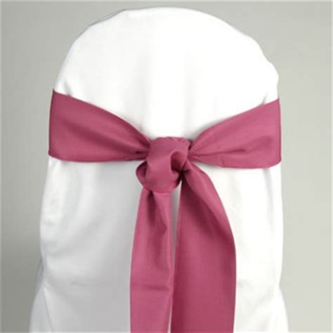 magenta chair sash event source