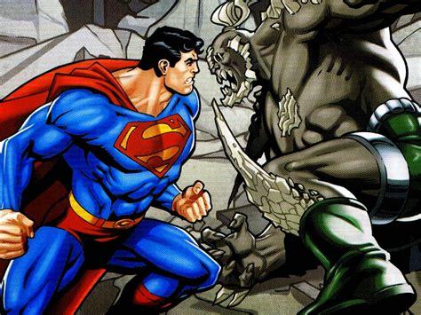 kumpulan gambar superman cartoon wallpaper gambar lucu superman vs doomsday wallpaper wallpapersafari