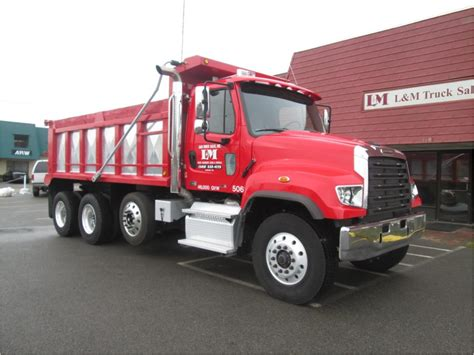 freightliner dump truck freightliner 114sd dump trucks for sale used trucks on