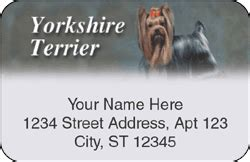 yorkie address labels yorkie address labels terrier labels at yorkiechecks