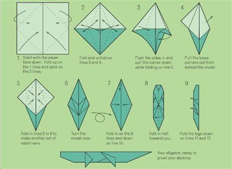 origami alligator favecraftscom
