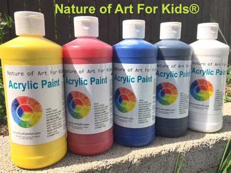 acrylic paint kid safe how to paints for kid projects
