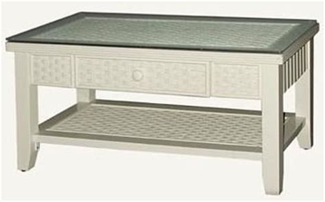 beadboard coffee table wood wicker furniture beadboard furniture cottage wicker