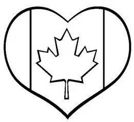 printable canada heart coloring page coloringpagebook com
