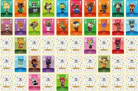 happy home designer furniture list 200 cartes nfc sont pr 233 vues pour animal crossing happy