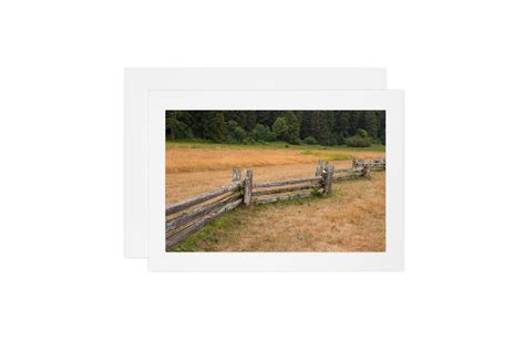 National Rail Gift Card - split rail fence card clp design studio