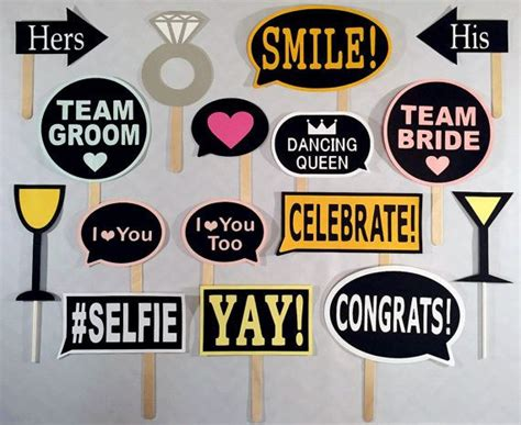 Decoration Ideas For Engagement Party At Home by Best 25 Wedding Photo Props Ideas On Pinterest Bridal