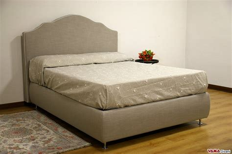 letto tessuto letto con contenitore classico in tessuto grigio sfoderabile