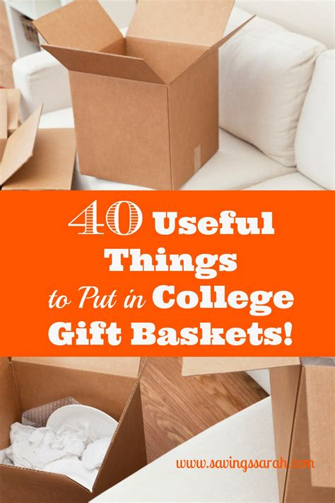 what to put in gift baskets 40 useful things to put in college gift baskets earning