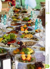 Banquette Food by Festive Food Stock Photo Image 36094270