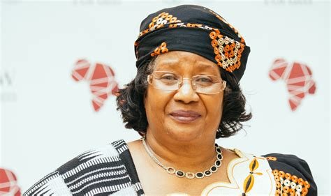 newspaper biography exle joyce banda empowered women need to be where laws are