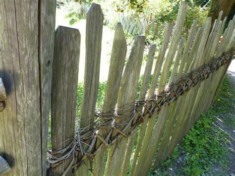 pflanzen für schattige plätze zaun flechten idee