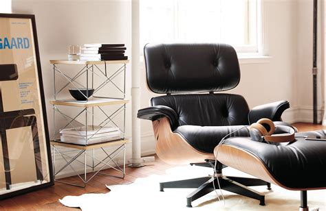 Lounge And Ottoman by Simple Yet Comfy Eames Lounge Chair And Ottoman Home