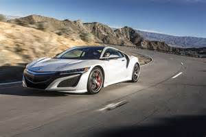 Acura Nsx In Touring The 2017 Acura Nsx S Ohio Factory Motor Trend