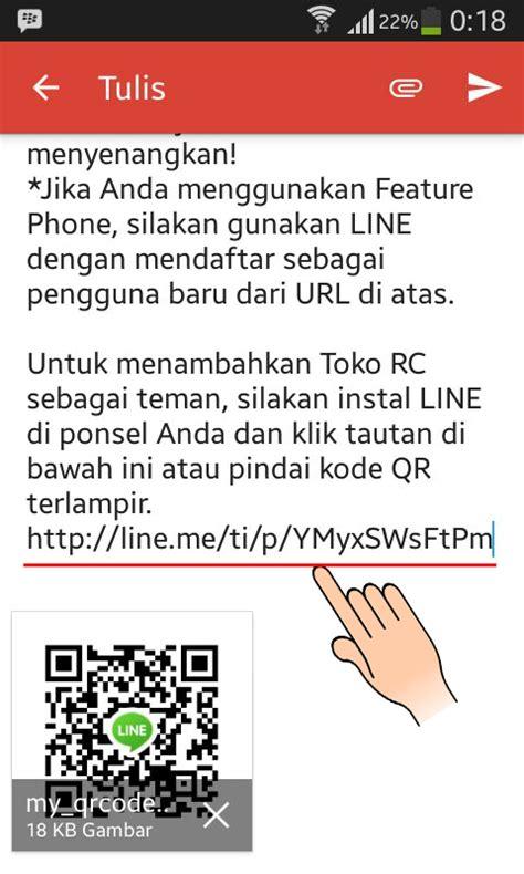 membuat link url line cara membuat link url id di line android indonesia