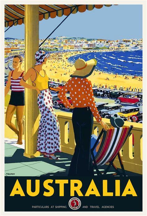 Buy Ebay Gift Card Australia - vintage art deco travel poster australia bondi beach sydney 1920s seashore retro ebay