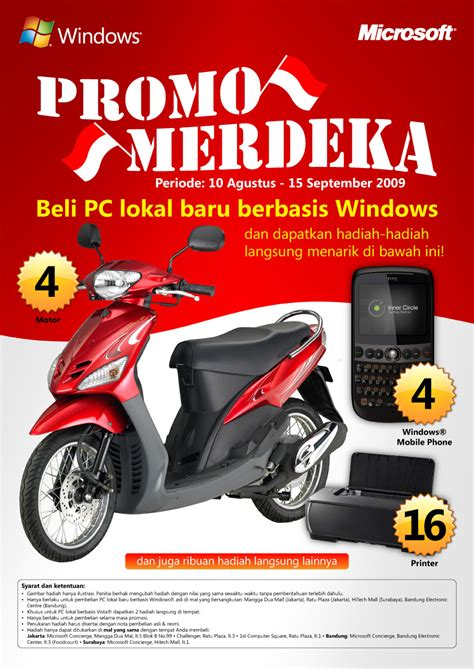 Promo Gede Be Proud Of Indonesia Logo 3 Colors For Microsoft Indonesia By Irene At Coroflot