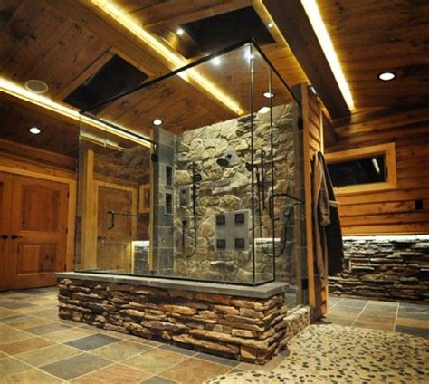 stone bathroom showers 17 best ideas about stone shower on pinterest rock shower rustic shower and awesome