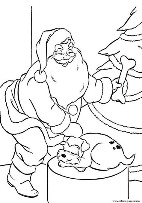 minecraft santa coloring page coloring pages of santa claus and puppys present54da