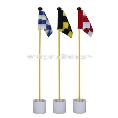 backyard golf set backyard golf practice putting green flag poles cup set buy golf flag pole backyard