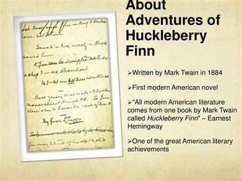 huckleberry finn themes ppt ppt huckleberry finn powerpoint presentation id 1547115