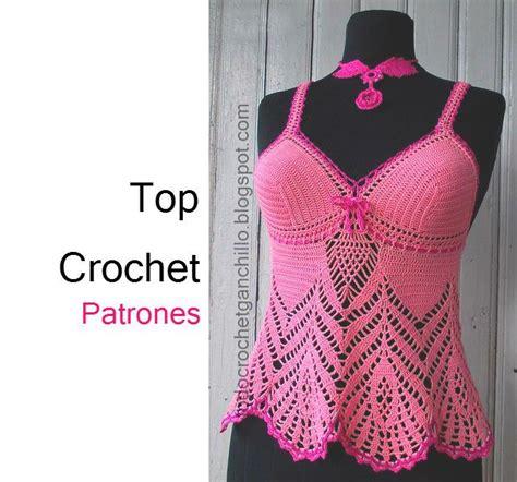 crop top a crochet paso a paso todo crochet solero top crochet patrones y paso a paso