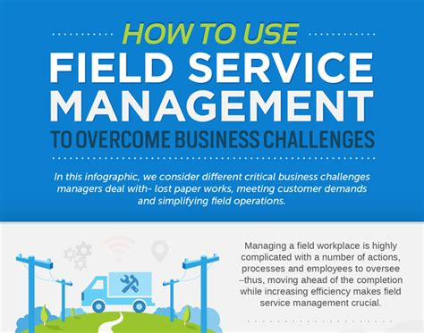 business management challenges how to use field service management to overcome business