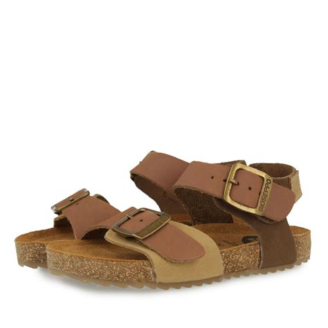 boys brown sandals brown leather sandals with bio sole for boys navegante