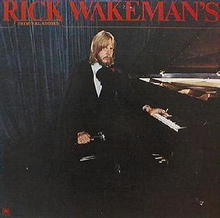 The Rock Criminal Record Rick Wakeman Albums