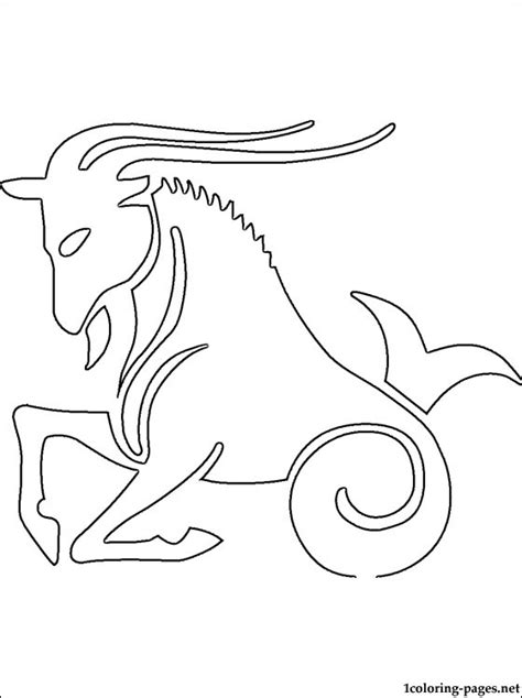 aries color aries coloring page coloring pages