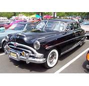 1953 Hudson Hornet Sedan  Black
