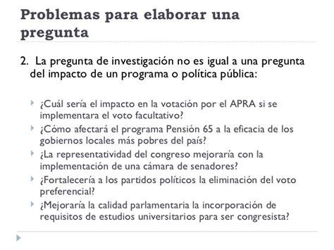 preguntas de investigacion educativa ejemplos la pregunta de investigaci 243 n